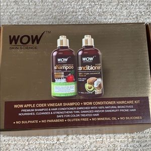 NWOT WOW Skin Science shampoo and conditioner